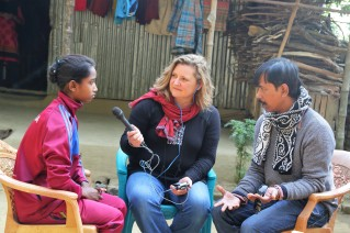 Kalsindur interview sajeda