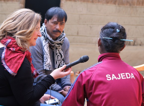 Kalsindur Sajeda interview2