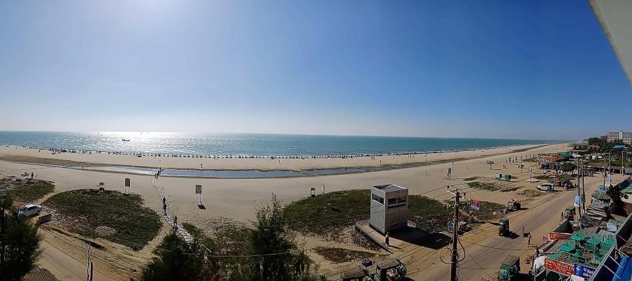 Strand vom Flieger