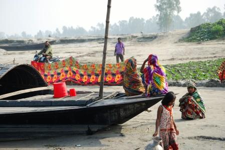Gaibandha am Fluss2