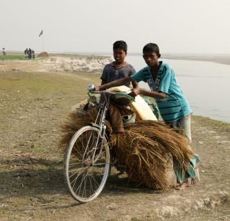 Gaibandha Fahrradtransport