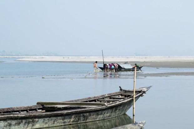 Gaibandha Fischerboote