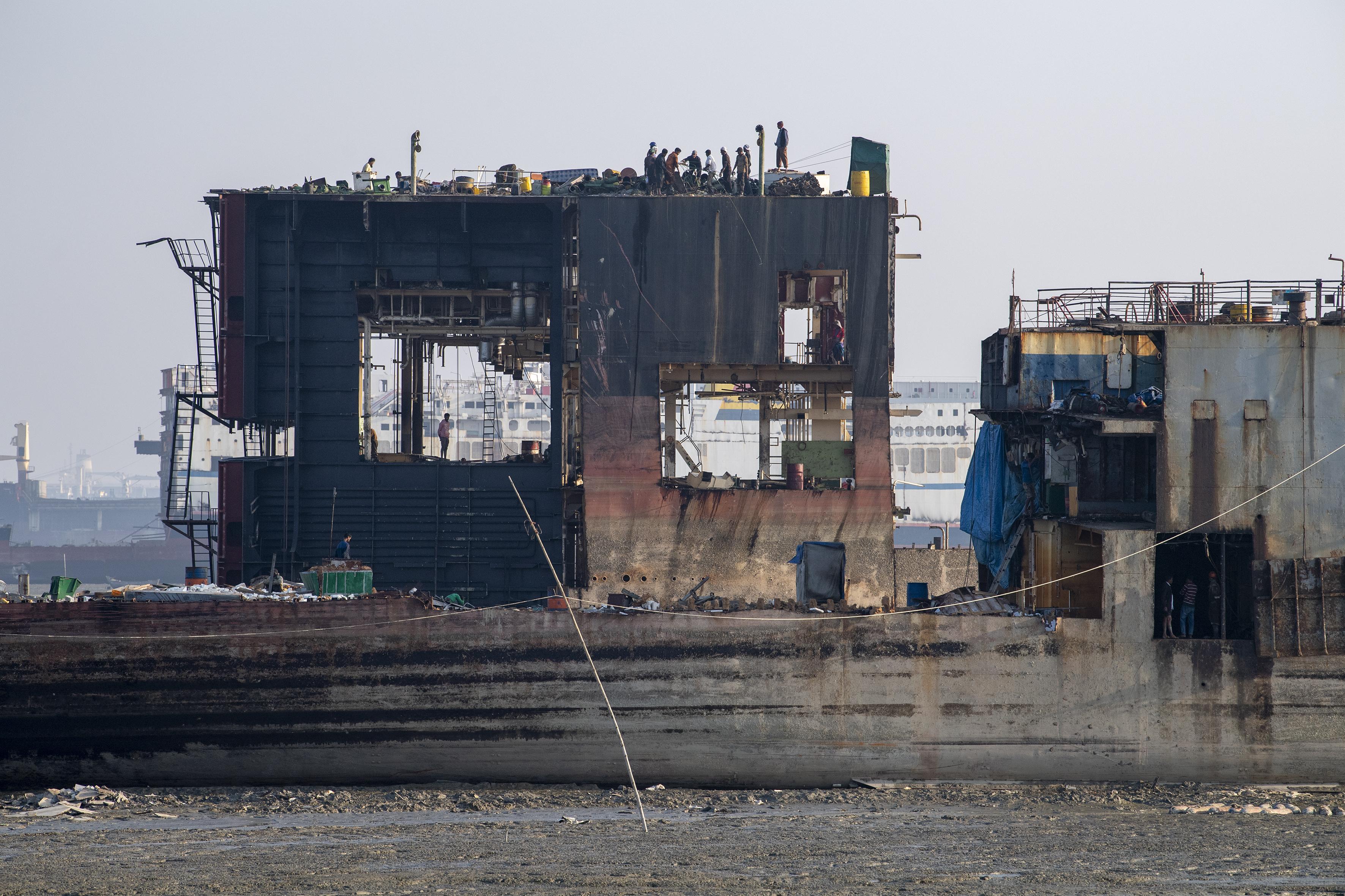 Abwrackhafen Chittagong Foto Jürg Vifian (10)