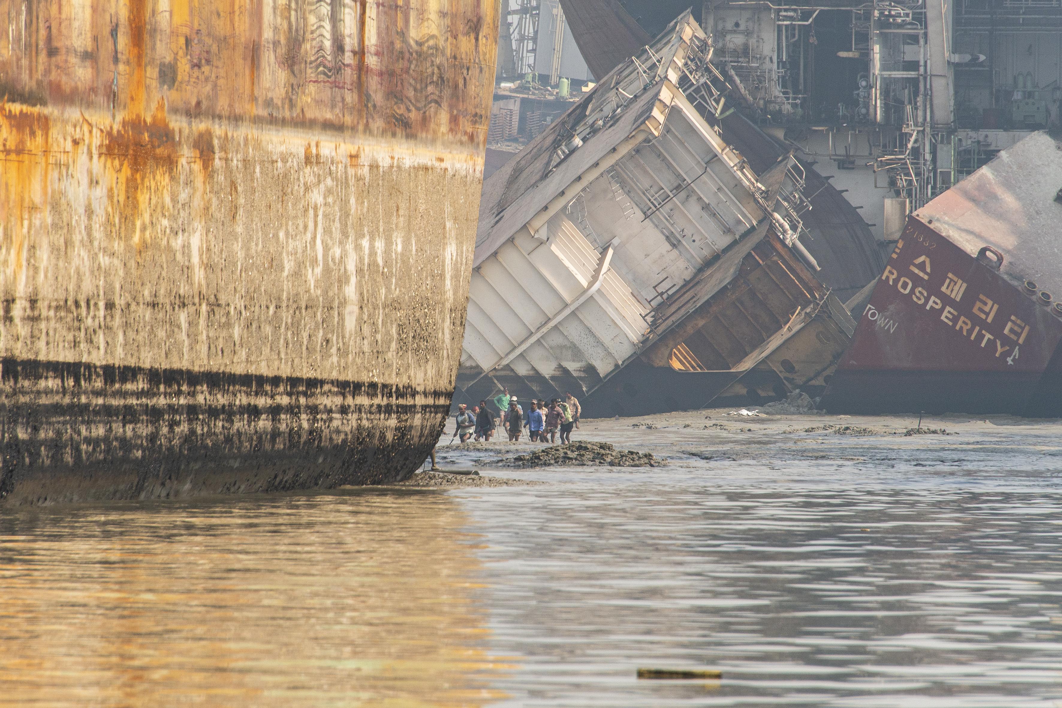 Abwrackhafen Chittagong Foto Jürg Vifian (11)